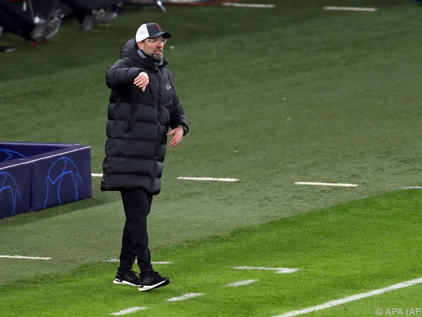 Jürgen Klopp wird das Rückspiel mit seinem Team wohl auch in Ungarn bestreiten