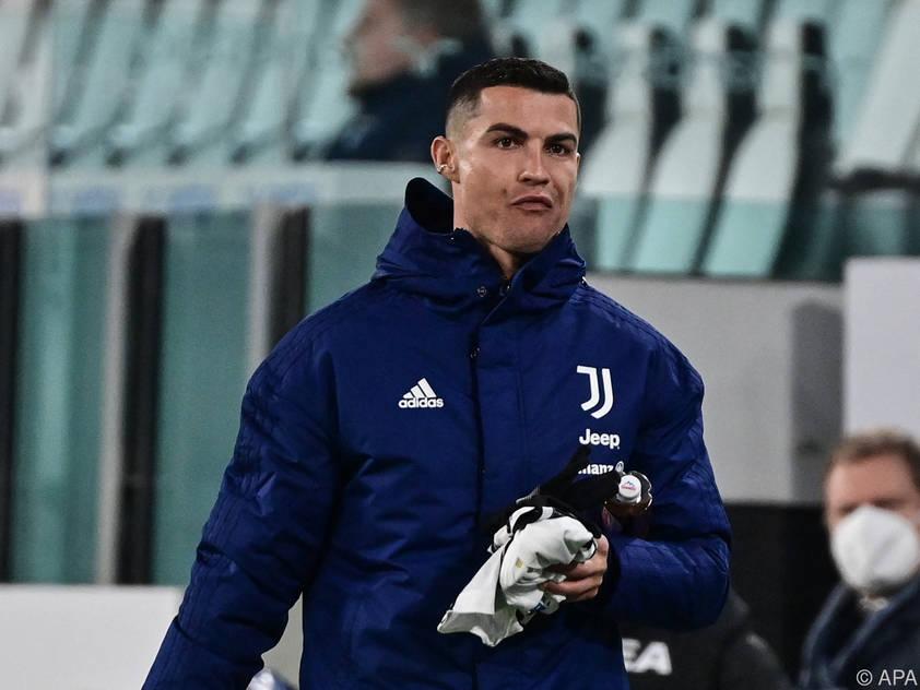 Ronaldo am Samstag Ersatz, am Dienstag Juventus-Hoffnungsträger