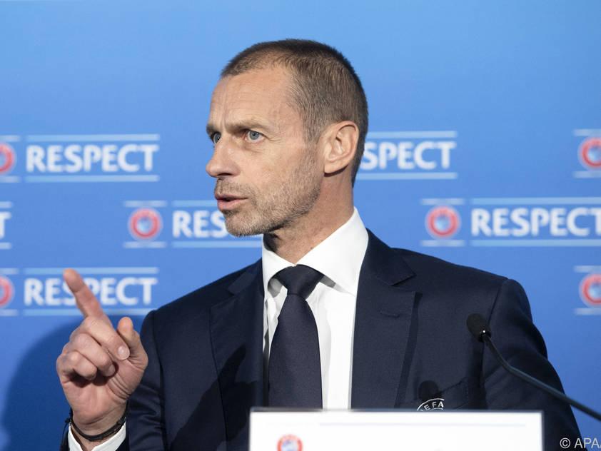 Für UEFA-Boss Ceferin gab es in Montreux einiges zu besprechen