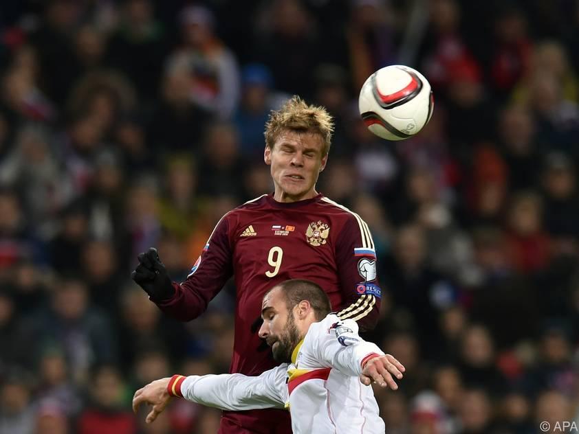 Russland beendete die Quali acht Punkte hinter Österreich