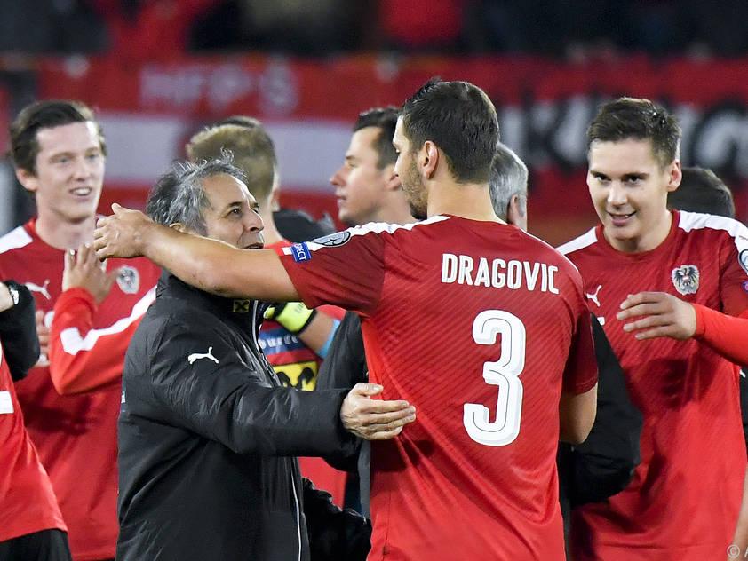 Die Spieler lieben den Noch-Teamchef Marcel Koller