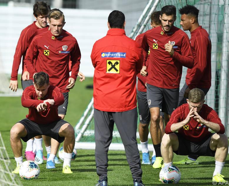 Die Vorbereitungen auf das Slowenien-Match laufen auf Hochtouren