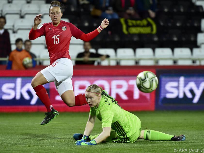 Die Hoffnungen im ÖFB-Team liegen auf Goalgetterin Nicole Billa