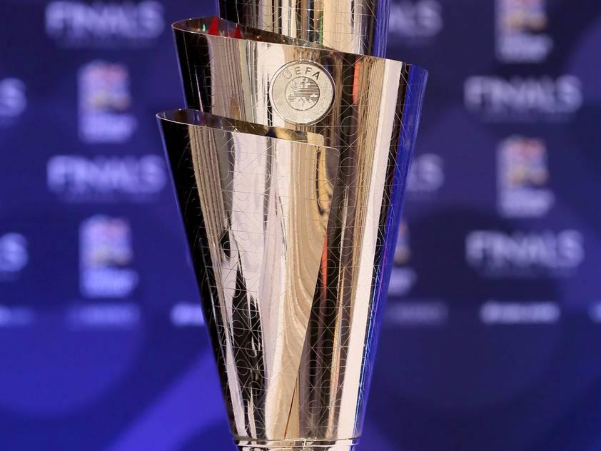 Der Nations-League-Pokal