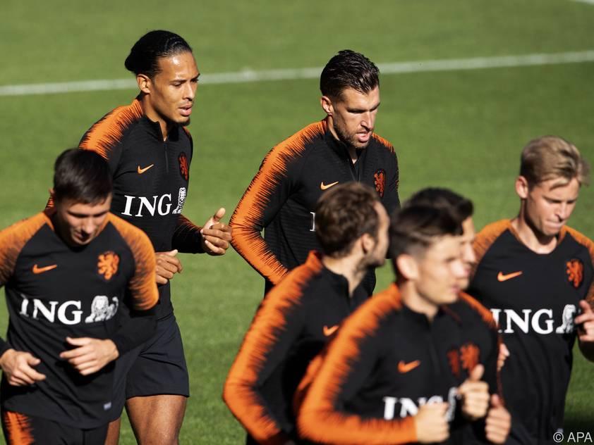 Die niederländischen Fußballstars kommen nach Kärnten