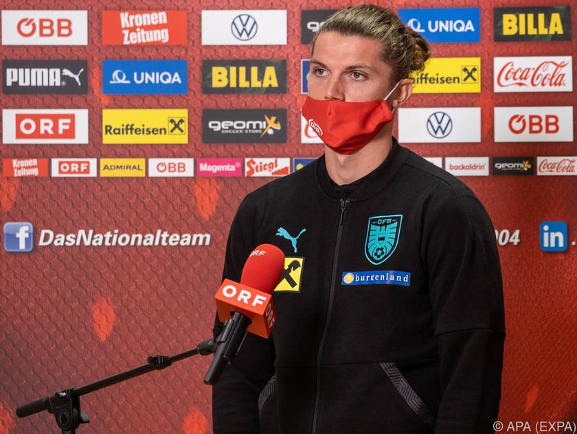Der Leipziger ist auch im ÖFB-Team ein Führungsspieler