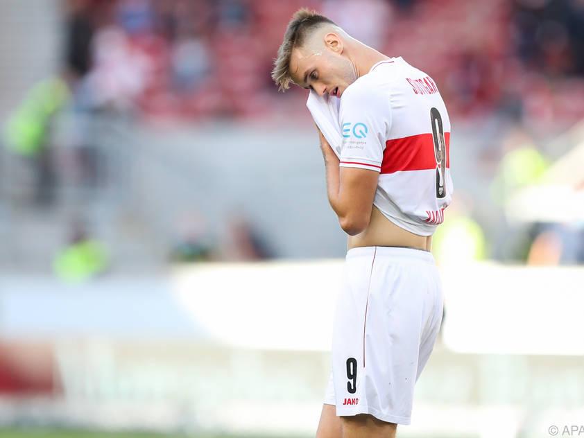 Stuttgart-Legionär Saša Kalajdžić wird wohl sein Länderspiel-Debüt feiern