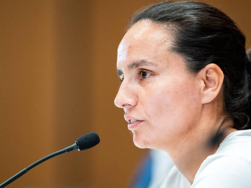 Irene Fuhrmanns Mannschaft will die übermächtigen Gegnerinnen ärgern
