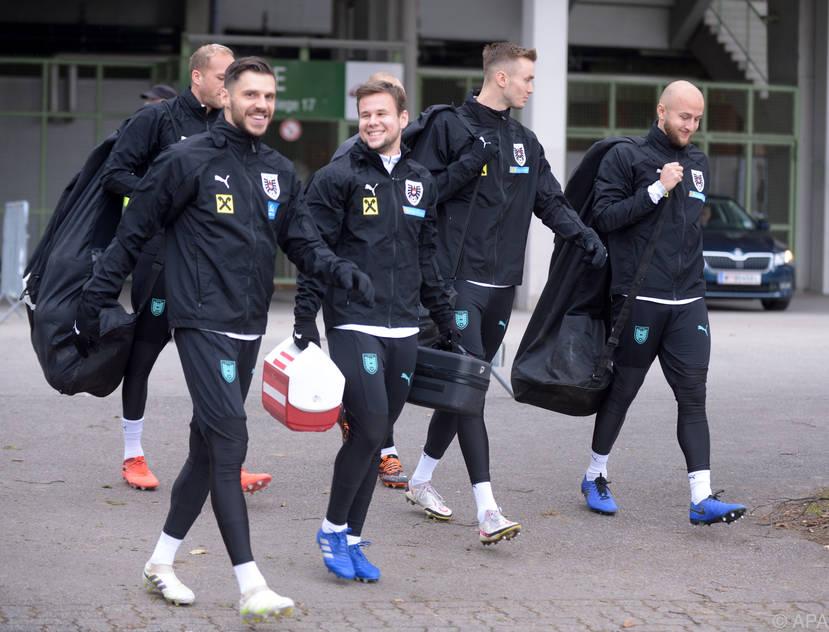 Erstes Spiel für die ÖFB-Auswahl auswärts auf der Insel gegen Schottland