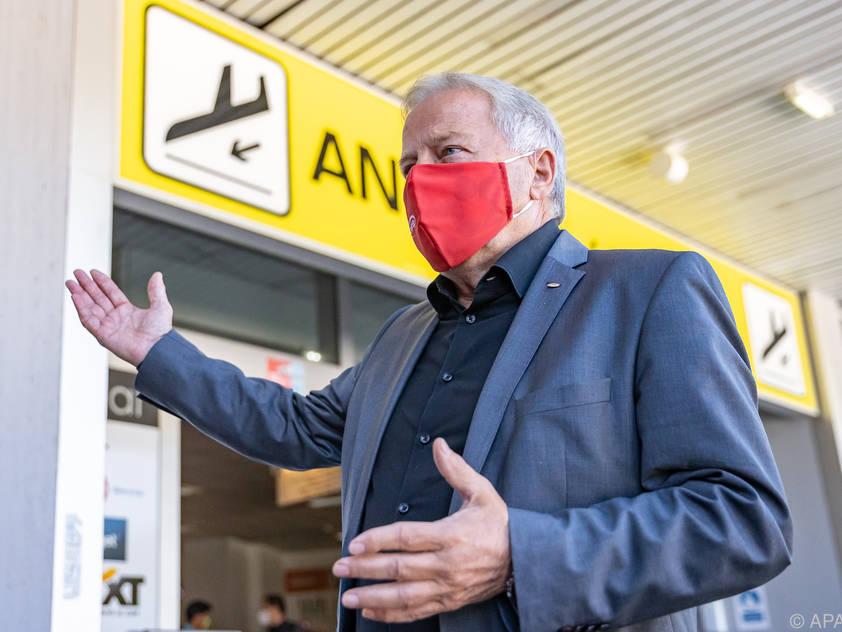 ÖFB-Chef Leo Windtner würde eine geringere Reisetätigkeit bei der EM begrüßen