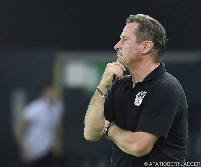 Trotz Ausfällen erwartet U21-Teamchef Gregoritsch Sieg in Estland