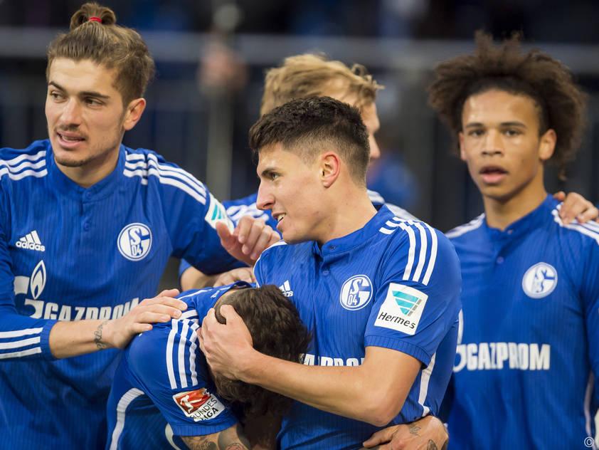 Sieben Minuten brauchte Schöpf für sein erstes Bundesliga-Tor