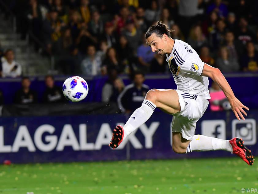 Zlatan Ibrahimović ist in Topform