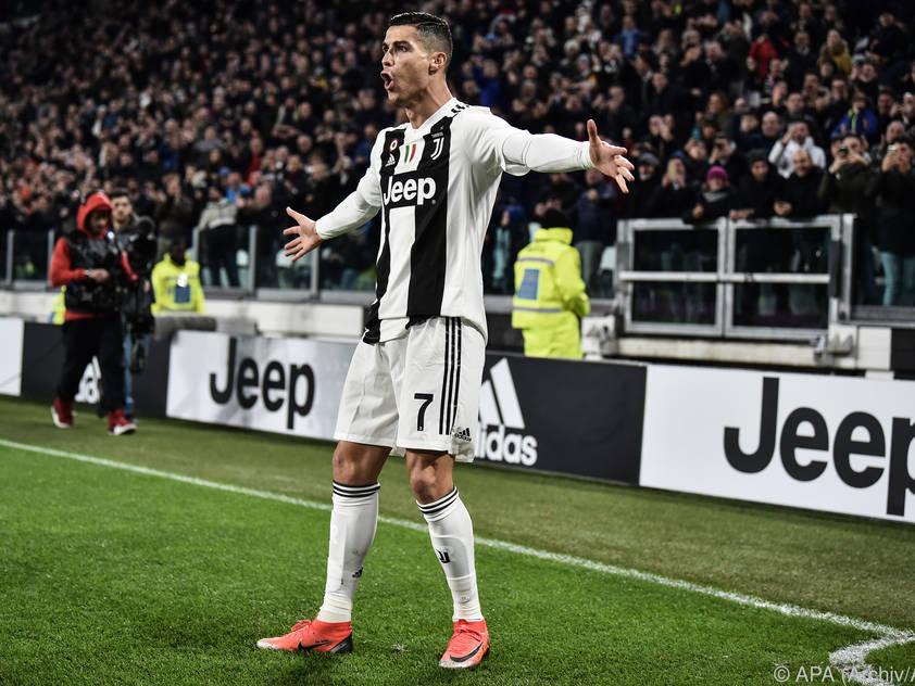 Ronaldo und Co. in Florenz zu Gast