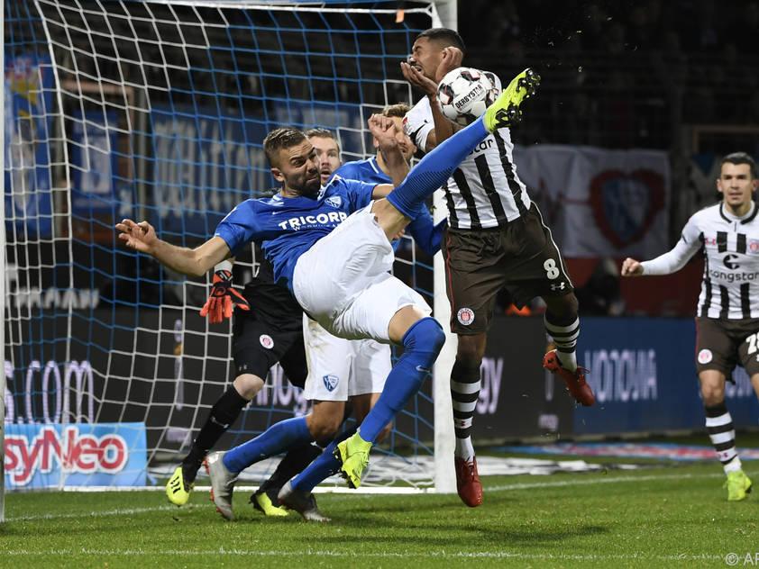 Auch ein Tor von Lukas Hinterseer konnte die Bochumer Niederlage nicht verhindern