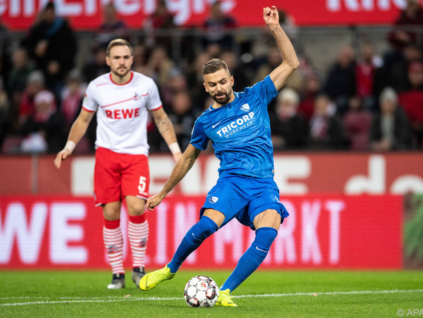 Lukas Hinterseer führte Bochum zum Sieg in Köln