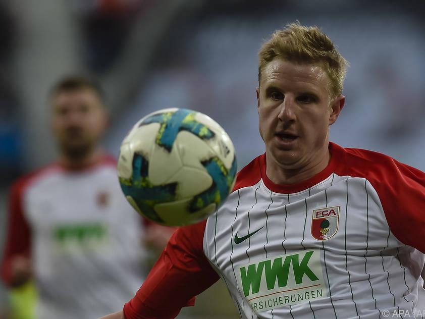 Martin Hinteregger ist beim FC Augsburg ein Dauerbrenner