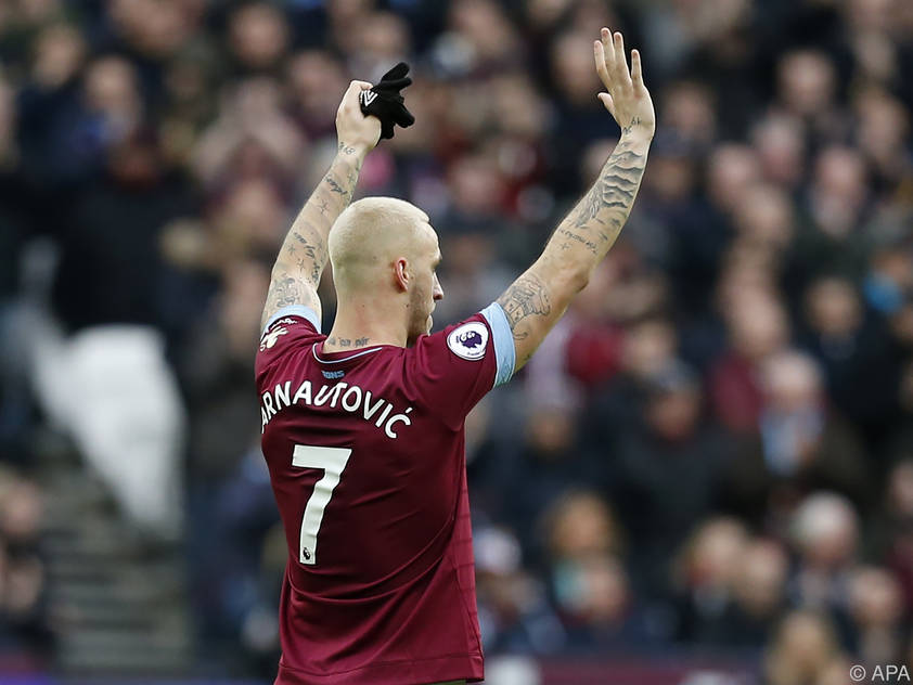 Marko Arnautović wird vorerst bei West Ham bleiben