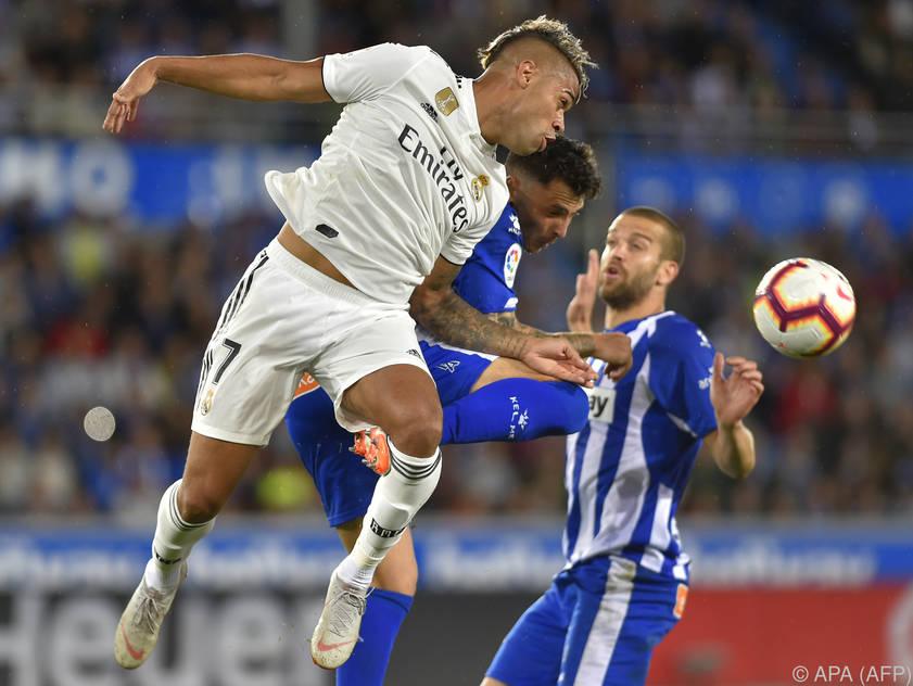 Alavés ist für Real Madrid eine harte Nuss