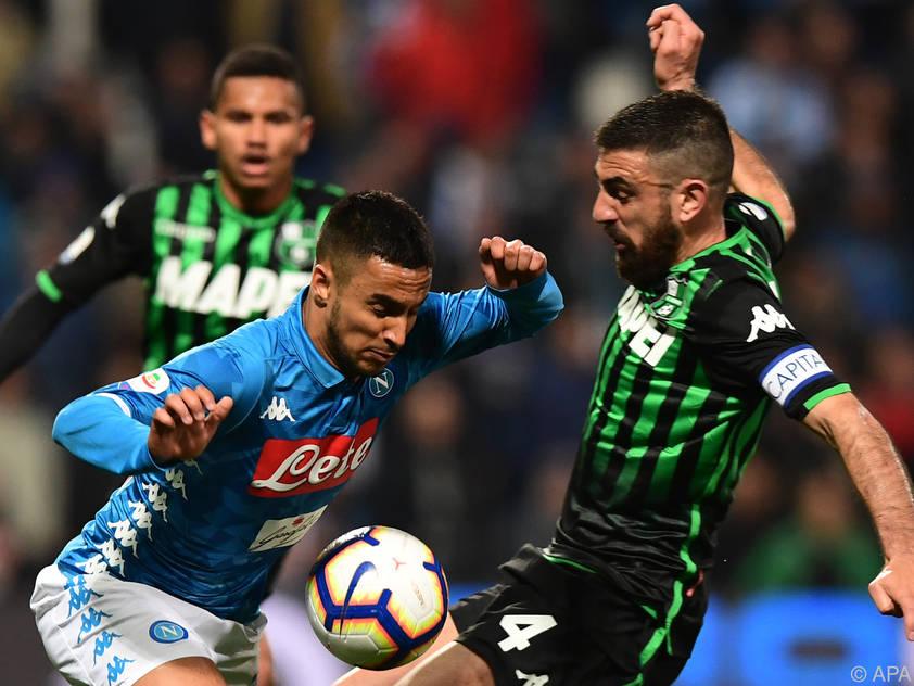 Das Unentschieden gegen Napoli ist für Sassuolo ein Erfolg