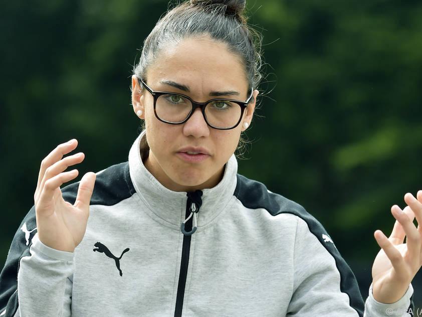 Manuela Zinsberger wird den Club auf eigenen Wunsch hin verlassen