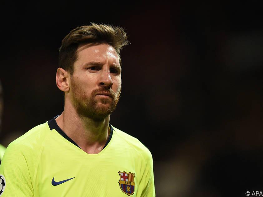 Lionel Messi wird wie auch andere Stammspieler aussetzen