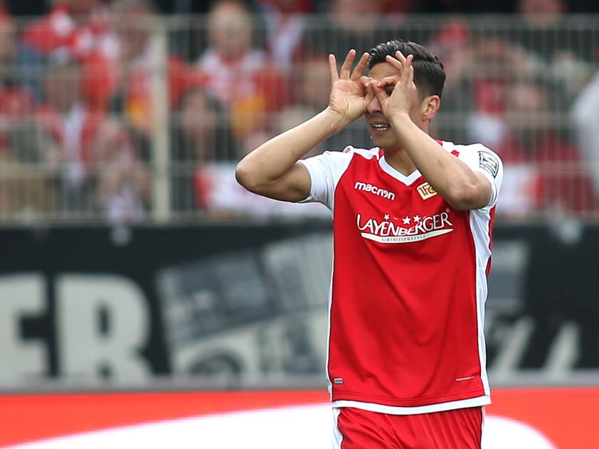 Rober Žulj traf für Union Berlin gegen den HSV in der 46. Minute