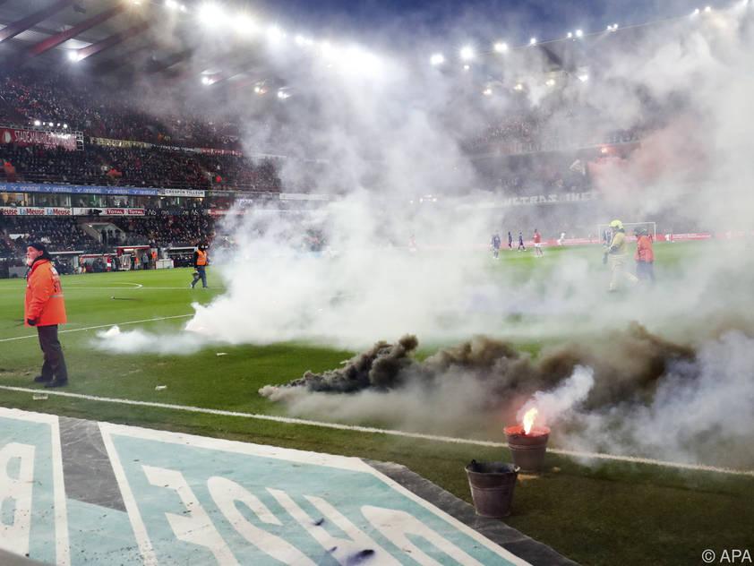 Der Spielabbruch hat bittere Folgen für Anderlecht