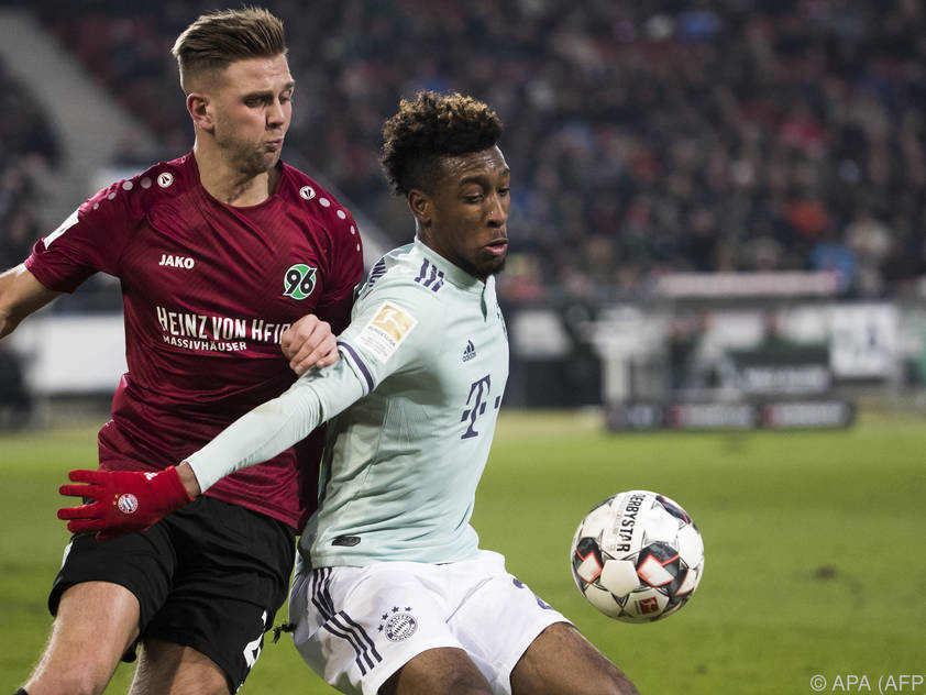 Bayern mit einer vermeintlich leichten Aufgabe gegen Hannover