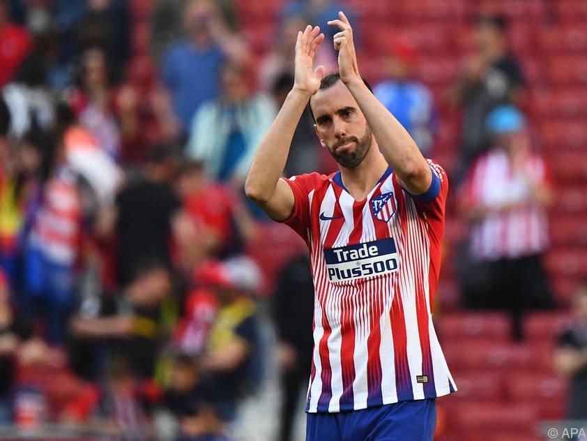 Diego Godin verlässt Atletico Madrid