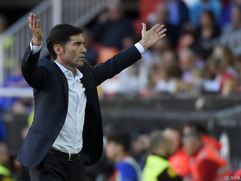 Valencia-Coach Marcelino sitzt wieder fest im Sattel