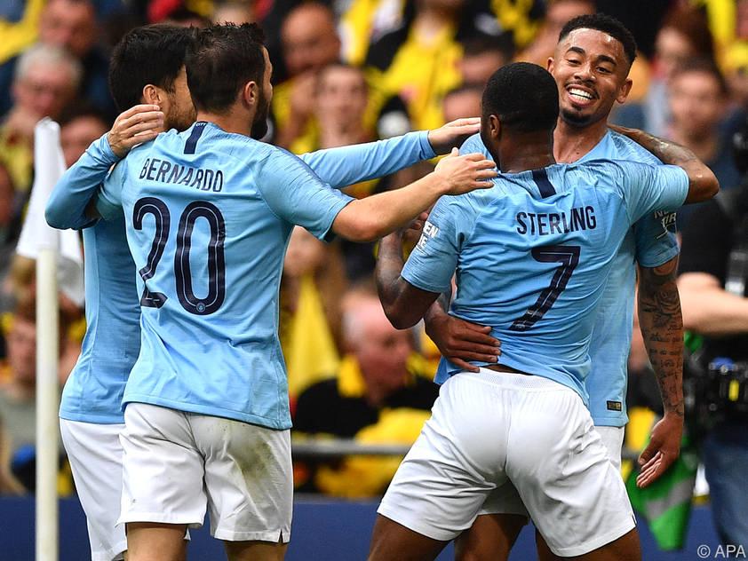Manchester City war im Endspiel ungefährdet