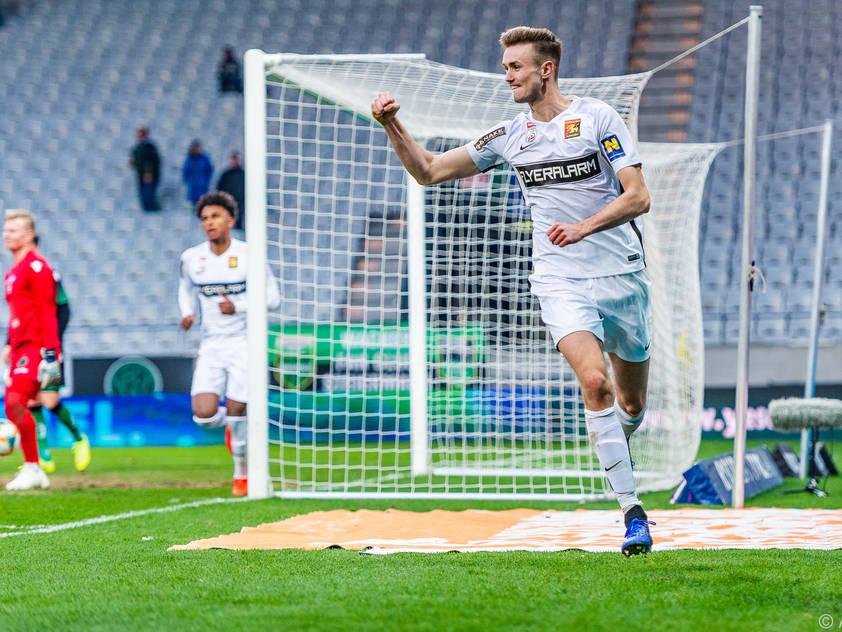 Auch bei der U21-EM kam der begabte Stürmer zum Einsatz