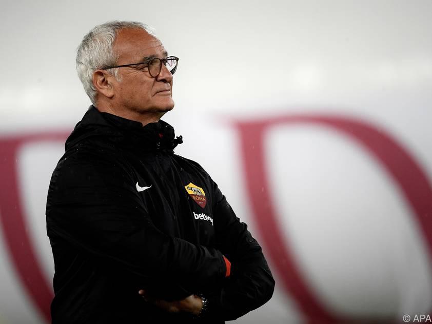 Das erste Spiel hat Ranieri just gegen Ex-Klub Roma