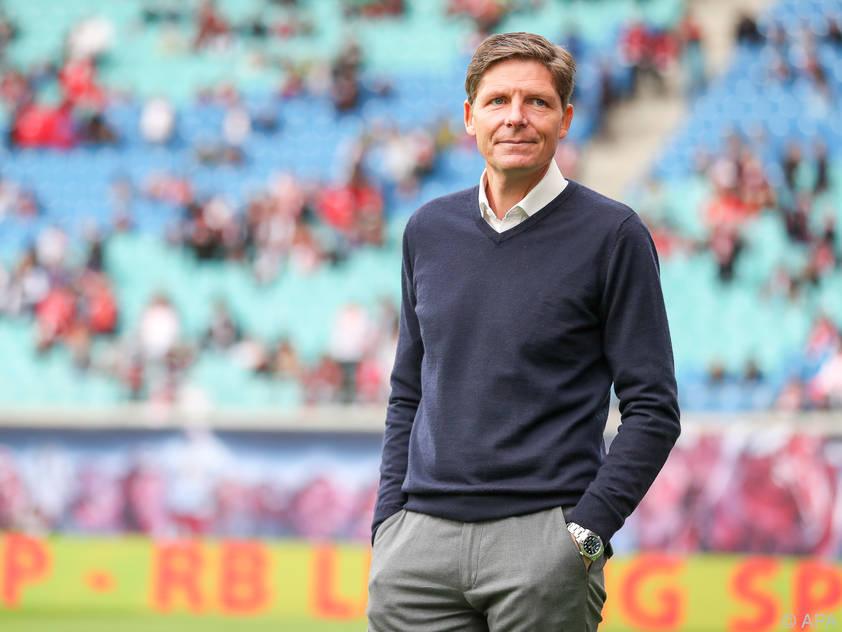 Wolfsburgs Trainer Oliver Glasner ist stolz auf seine Truppe