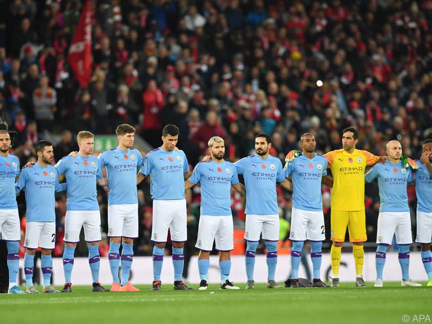 Englands Meister Manchester City
