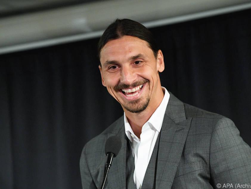 Zlatan Ibrahimović ist nun Teilhaber beim schwedischen Erstligisten Hammarby IF