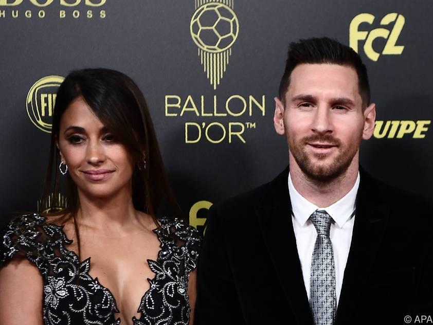 Lionel Messi erhielt seinen sechsten
