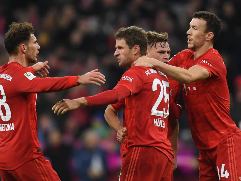 Für die Bayern geht es darum, mit der Tabellenspitze auf Tuchfühlung zu bleiben