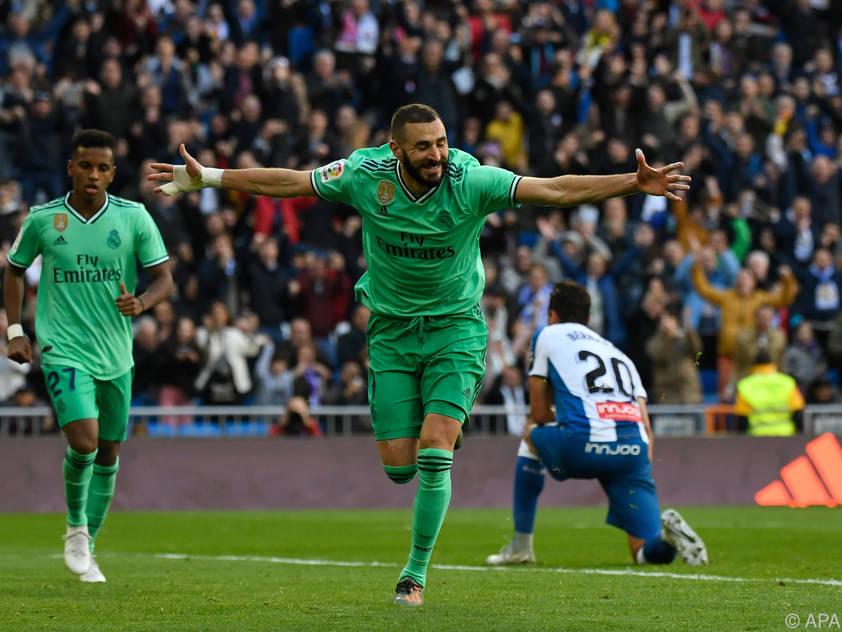 Benzema avancierte zum Matchwinner für Real