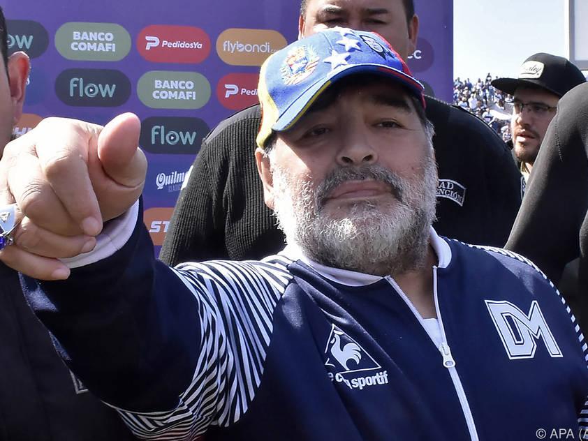 Sieg vor Gericht für Ex-Fußballstar Diego Maradona