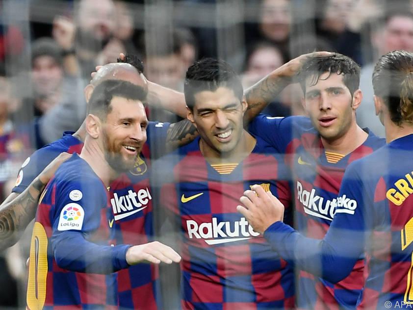 Vier Toe von Messi und Co gegen Alaves