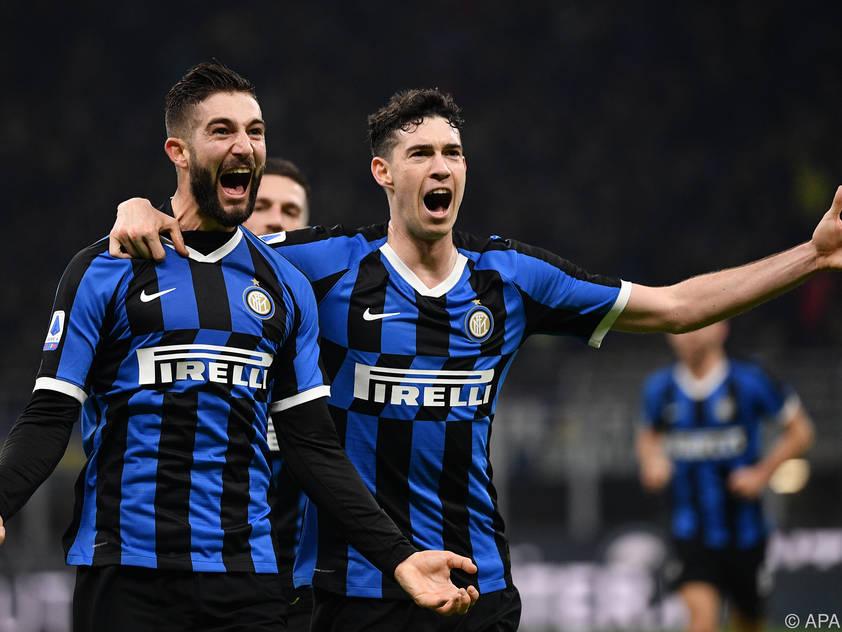 Bei Inter Mailand gibt es viel zu jubeln