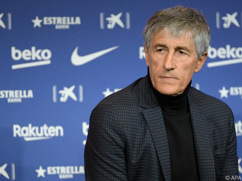 Quique Setien ist der neue Trainer von FC Barcelona