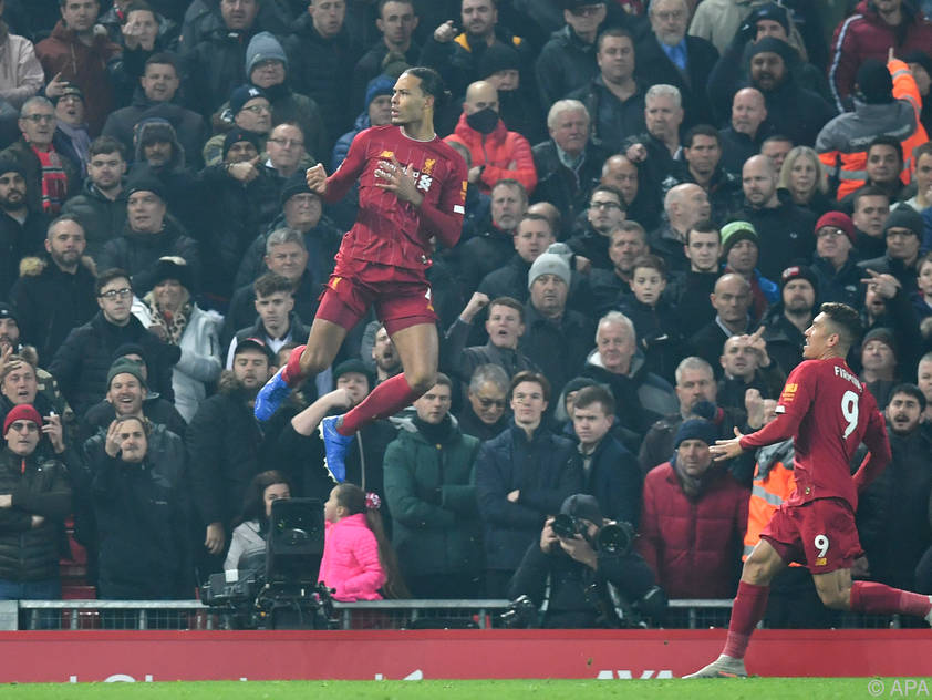 Virgil van Dijk erzielte das 1:0 der