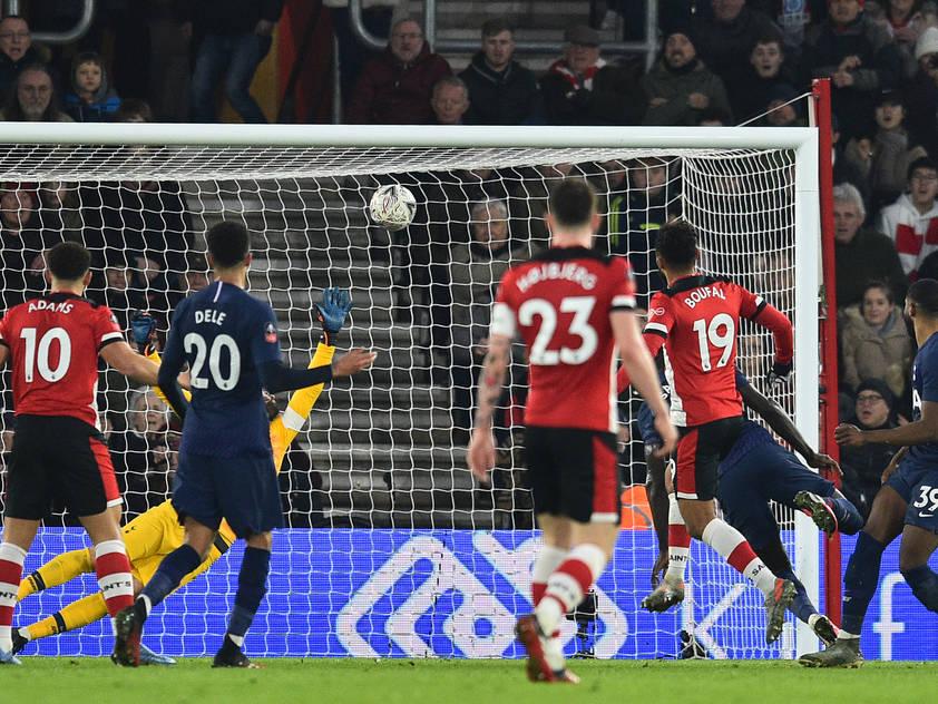 Sofiane Boufal traf zum späten Ausgleich gegen Tottenham