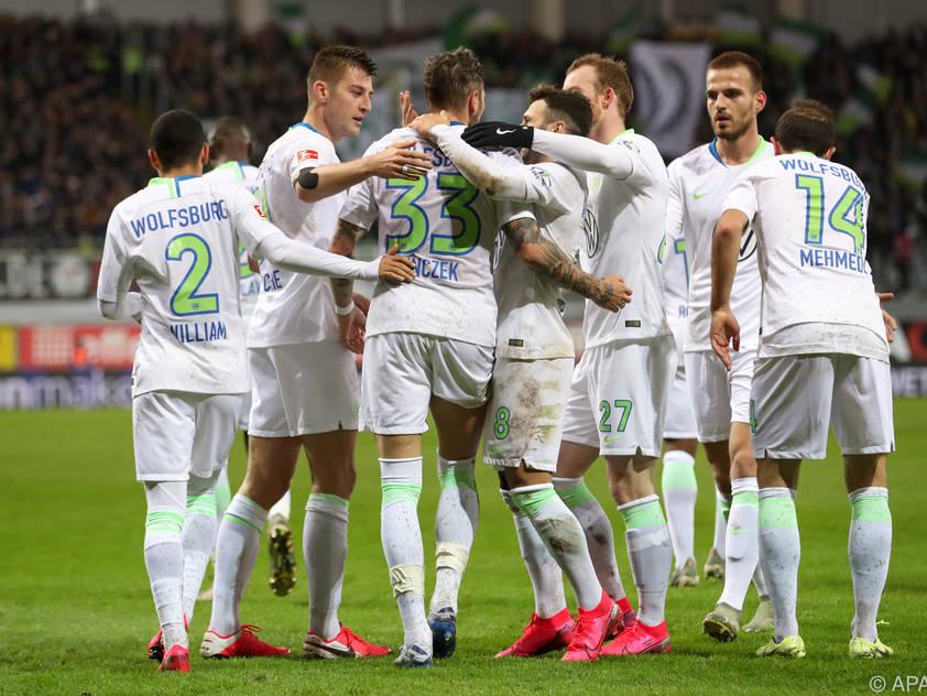 Wolfsburg gelang der ersehnte Befreiungsschlag