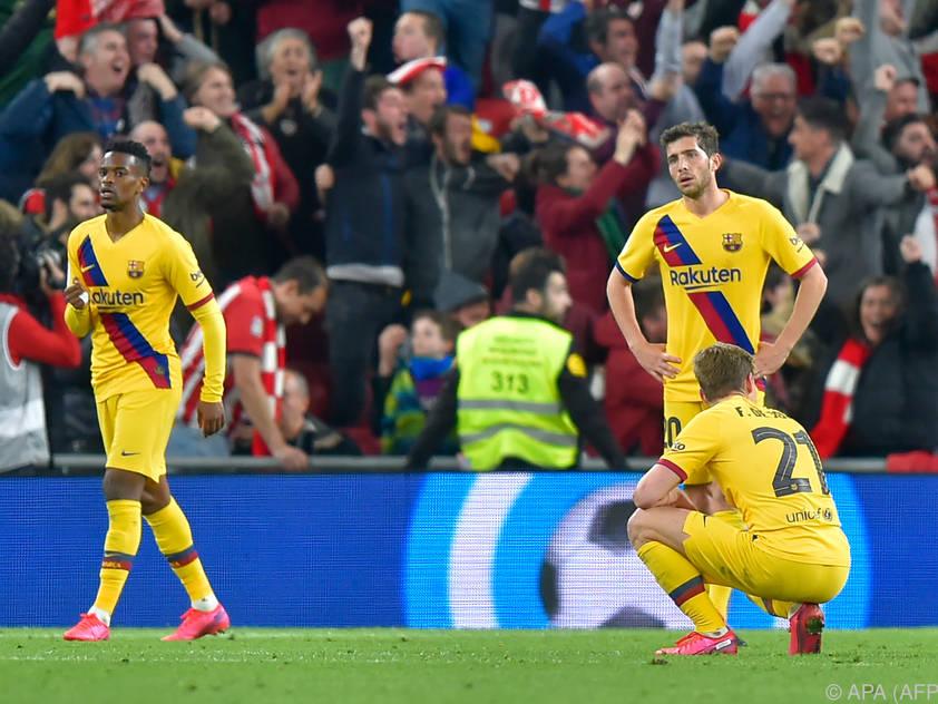 Bei Barcelona läuft es derzeit nicht rund