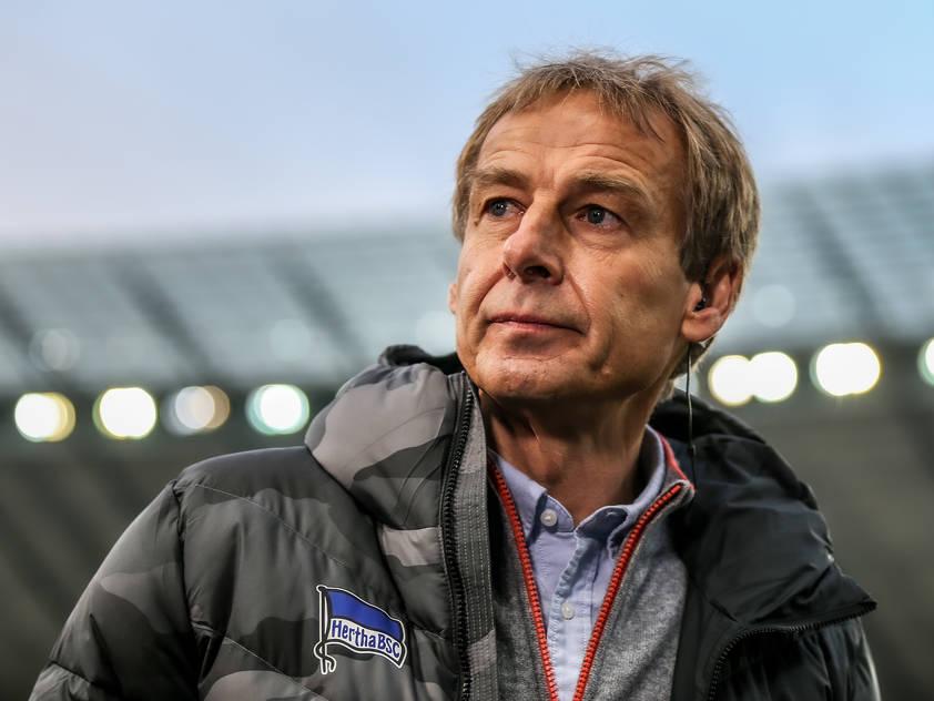Jürgen Klinsmann wird bei der Hertha nichts mehr zu sagen haben