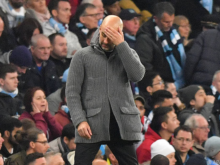 Guardiola dürfte trotz des Rückschlags bleiben